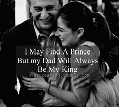 Dad's my king Father Daughter Love Quotes, Father Love Quotes, Love My Parents Quotes, Mom And Dad Quotes, I Love My Parents, Daddy Quotes, Fathers Day Quotes, I Love My Dad, Fathers Love