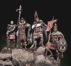 Rome History, Titanic History, Roman Soldiers, Toy Soldiers, Roman Warriors, Roman Legion, Greek Warrior, Medieval, Modelos 3d