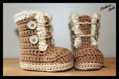 Crochet Pattern for Boys or Girls Fur Trim от NewbornKnots на Etsy, $4.50