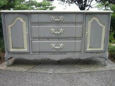 chalk paint, distressed furniture...beautiful