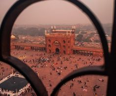 The Eastern gate of Jama Masjid,Delhi,India. Jama Masjid Delhi, Delhi India, Airplane View, Gate, Louvre, Architecture, Building, Travel, Construction