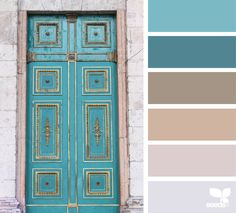 { a door hues } image via: @zsuzsi.vi #palette #colorpalette #pallet #colour #colourpalette #design #seeds #designseeds #seedscolor