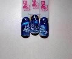 Christmas Nails 2019, Xmas Nails, Get Nails, Holiday Nails, Christmas Nail Art Designs, Winter Nail Designs, Winter Nail Art, Winter Nails, Fall Nails