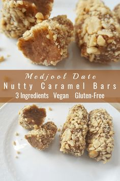 I used to love Payday bars. Could I create my own version a healthy version? And so Medjool Date Nutty Caramel Protein Bars were born. Delicious Vegan Recipes, Gluten Free Recipes, Baking Recipes, Snack Recipes, Vegetarian Recipes, Healthy Recipes, Healthy Bars, Healthy Baking, Healthy Snacks