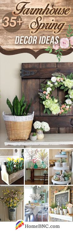 Rustic Farmhouse Spring Decorations