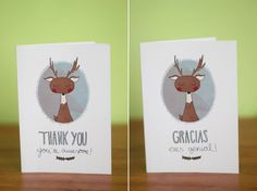 Lauryn Green: Thank you cards. Thank You Gracias, Free Thank You Cards, Im Happy, Free Printables, Place Card Holders, Website, Blog, Gifts, Diy