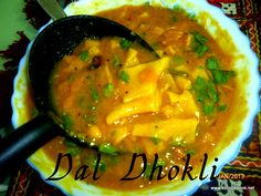 Dal Dhokli Recipe