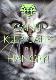 Can't Keep Calm I'm Hangry! / created with Keep Calm and Carry On for iOS #keepcalm #hangry #cantkeepcalm