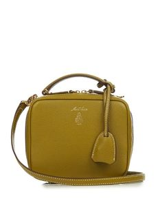 Mark Cross Laura Baby grained-leather shoulder bag