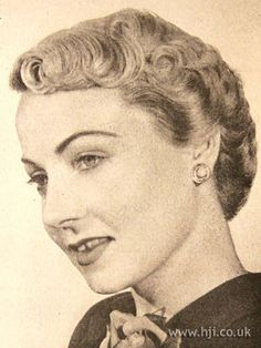 1950's HAIRSTYLES | Photo of 1950 short blonde hairstyle