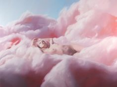 Will Cotton, Cotton Candy Cloud (Sandra), 2005, oil on linen, 60 x 80 inches. Courtesy of the artist and Mary Boone Gallery