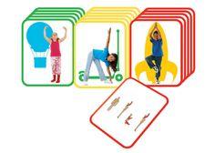 Kids Yoga Cards - Set of 16
