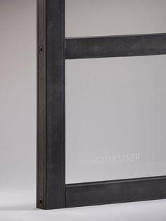 Profil Pura Stahl – Glas – Türen – Stahl-Loft-Türen www.stolwarker.de Steel Windows, Steel Doors, Crittall, Steel Detail, Loft, Scandinavian Home, Glass Door, Home Improvement, Mirror