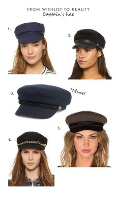 50a28bef1ec Wishlist to reality - Captain s hat More Tall Girl Fashion
