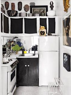 An NYC rental kitchen coverup by Patrick Mele http://patrickmele.com