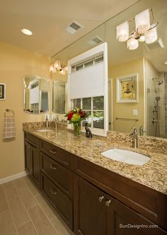 Modern Bathroom Remodel  Sun Design Remodeling Specialists Inc Beauteous Virginia Bathroom Remodeling Inspiration Design