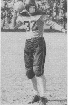 Earl Blackmon 1948 Varsity Football Team, Leesburg High School, Leesburg, Florida