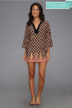 Nanette Lepore Morrocan Medallion - Special Tunic featured on Glance by Zappos