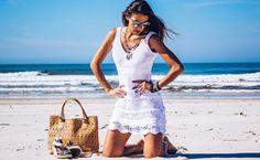 Vestido em Tricot Verão 2016 | Blog de Moda e Look do dia - Decor e Salto Alto - Bene's Malhas