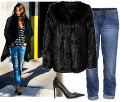 FUR COAT, fashion look