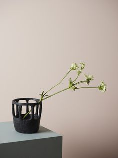 Beautiful colour palette and choice of flower in this piece of still life styling | Structure — Norwegian contemporary crafts and design