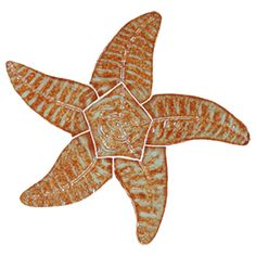 Starfish - Brown 9""