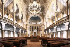 Synagogue in Saint-Petersburg, Russia