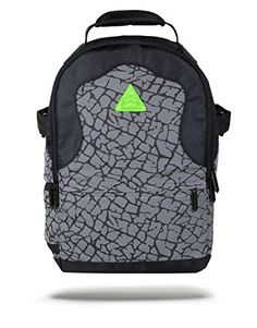Sprayground Reflective Neon Flux Deluxe Backpack Grey *** Check this awesome product by going to the link at the image.