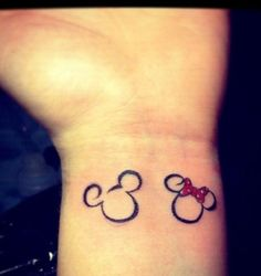 mickey mouse tattoo - Google Search