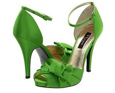 Nina. Sandals. Heels. Green. #ishops