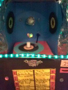 Inside jukebox