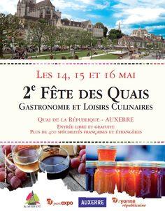 Fête des Quais: Gastronomie & Loisirs Culinaire 14-15-16 mai
