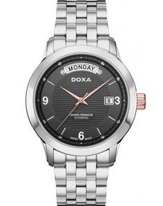 Zegarek Szwajcarski DOXA EXECUTIVE 5 AUTOMATIC D167RBK