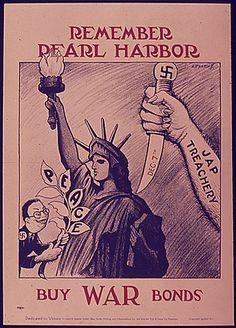 REMEMBER PEARL HARBOR - BUY WAR BONDS
