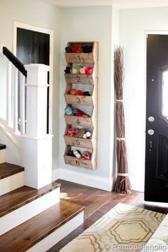 Cute for storing hats, gloves, scarves, etc. Need this by our back door.