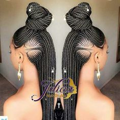 Cornrows with Beads for Adults COrnrows Braids bun and ponytail with beadsCOrnrows Braids bun and ponytail with beads Braided Hairstyles For Black Women, African Braids Hairstyles, Girl Hairstyles, Braided Mohawk Hairstyles, Easy Hairstyles, Hairstyles Pictures, African Hair Styles Braids, Hair Braiding Styles Black, Mohawk Braid