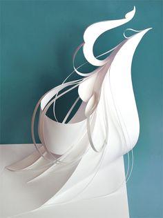 大曽根美術研究所 愛知県 3d Design, Paper Design, Paper Architecture, Sculpture Projects, Futuristic Design, Paper Folding, Abstract Sculpture, Tricycle, Geometric Art