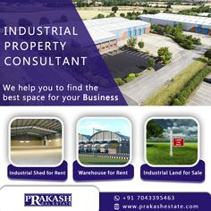 Industrial Property Consultant in Ahmedabad!!  Prakash Estate is Leading Industrial Property Consultant in Ahmedabad. It provides all industrial property like Industrial Land, Warehouse, Industrial Shed and Solar Power Plant for Rent and Sale.  http://www.prakashestate.com/industrial-land/  #IndustrialLandforSale #IndustrialLandAgent #IndustrialLandConsultant #IndustrialLandBroker #prakashestate #Ahmedabad