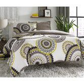 Found it at Wayfair - Radius Lemon Drop Reversible Comforter Set