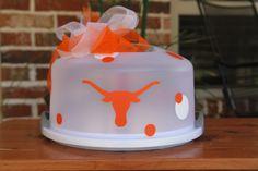 Custom  University of Texas Longhorns UT Cake by 2KrazyChicks, $25.00
