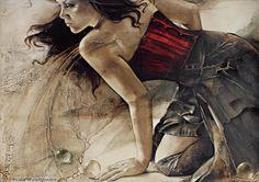'Earth Water Wind and Fire' | Art of Lidia Wylangowska | http://www.lidiawylangowska.com