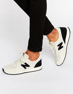 New+Balance+420+Grey+And+Black+Suede+Trainers