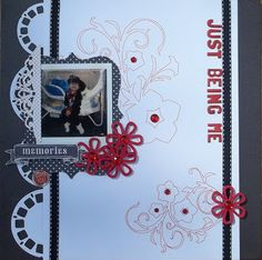 Just being me -LGS reveal Sept 16th #scrapbooking