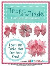 How To Make Spikes For A Hair Bow, YouTube Thursday - The Ribbon Retreat Blog