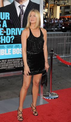Jennifer Aniston arrives at the 'Horrible Bosses' Los Angeles Premiere at Grauman's Chinese Theatre on June 30 2011 in Hollywood California
