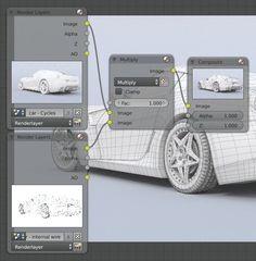 How to Render Wireframes in Blender