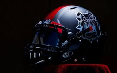 Fresno State New 2013 Football Uniforms black helmet 15 687x430 Fresno State New Blackout Football Uniform