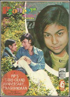 Philippines 1971 PIONEER KOMIKS Magasin #233 NORA AUNOR and PIP Interesting Photos, Cool Photos, Nora Aunor, Jose Rizal, School Bulletin Boards, Design History, My Childhood Memories, Filipina, Vintage Comics