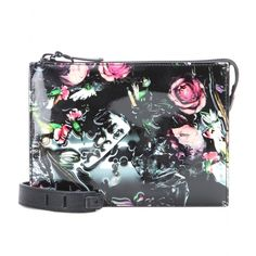 Mcq by alexander mcqueen Printed Patent-leather Shoulder Bag in Floral (festive floral height 16cm) | Lyst