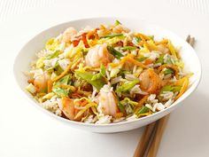 Get Food Network Kitchen's Shrimp Fried Rice Recipe from Food Network